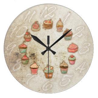 CupCakes Large Clock