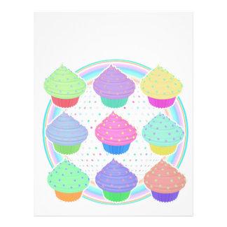 Cupcakes Letterhead