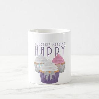Cupcakes Make Me Happy Coffee Mug