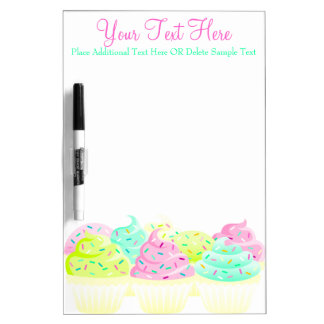 Cupcakes N Sprinkles Custom Message Board