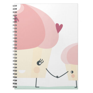 cupcakes notebook