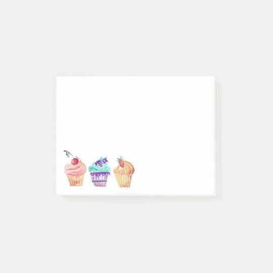 Cupcakes Post-it Notes
