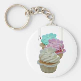 Cupcakes with Bling! Keychain