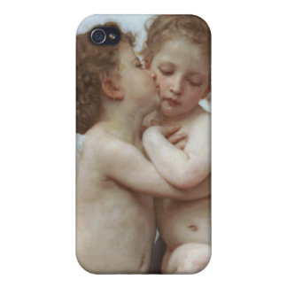 Cupid and Psyche as Babies iPhone 4 Covers