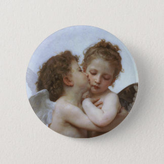Cupid and Psyche as Babys 2 Inch Round Button