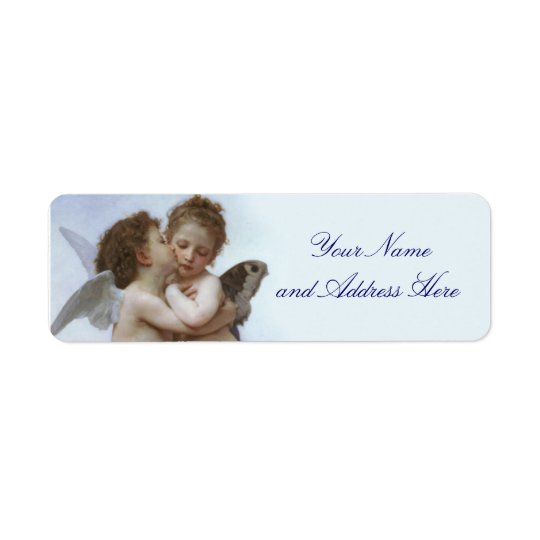 Cupid and Psyche Return Address Label
