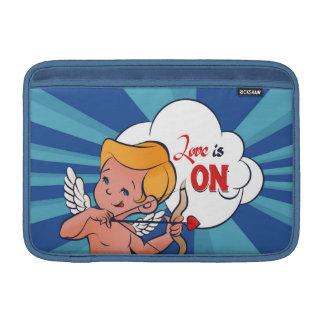 Cupid archer turn Love is On  Pop-Art MacBook Sleeve