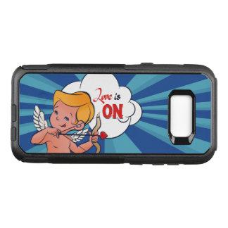 Cupid archer turn Love is On  Pop-Art OtterBox Commuter Samsung Galaxy S8+ Case