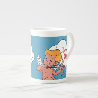 Cupid archer turn Love is On  Pop-Art Tea Cup