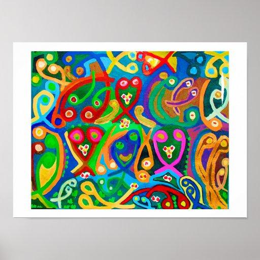 Cupid Art : Sperm Happy Dance Poster
