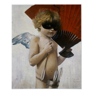 Cupid at the Masked Ball Poster