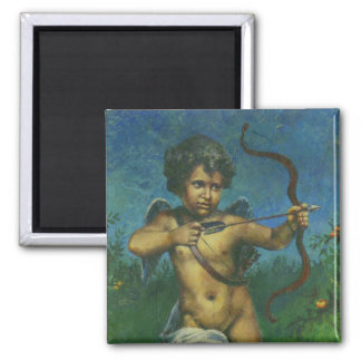 Cupid fresco Design Magnet
