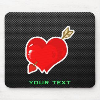 Cupid Heart & Arrow; Sleek Mouse Pad