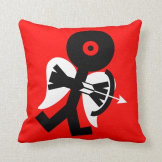 Cupid Icon Art Throw Pillow