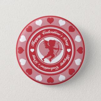 Cupid in the Round 2 Inch Round Button