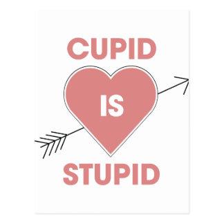 Cupid Is Stupid Postcard
