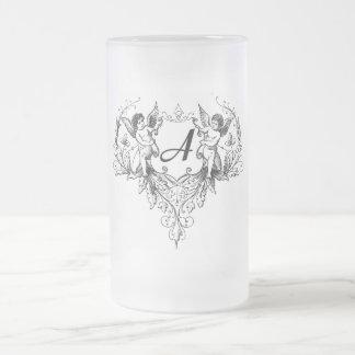Cupid Monogram A Collection mug