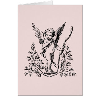 "Cupid Note Card 4"" x 5.6"""