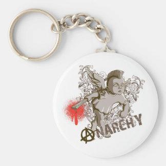 Cupid of Anarchy Keychain