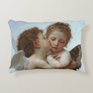 Cupid & Psyche as Children Decorative Pillow