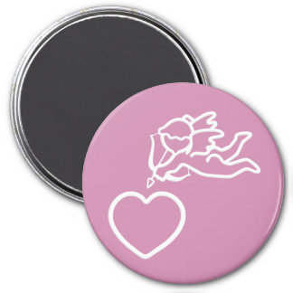 Cupid Strikes custom magnet