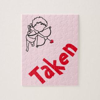 Cupid - taken jigsaw puzzle