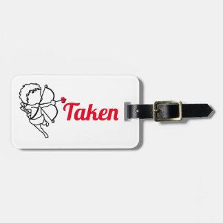 Cupid - taken luggage tag