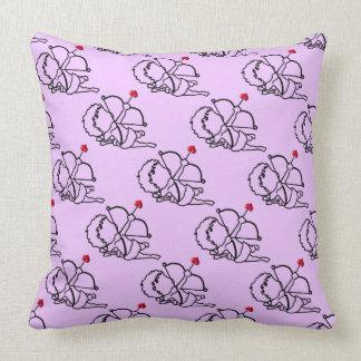 Cupid - taken throw pillow