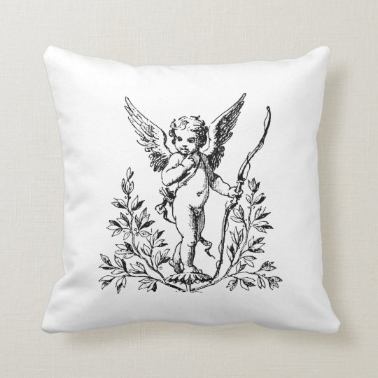 "Cupid Throw Pillow 20"" x 20"""