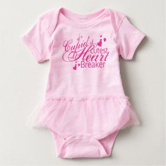 Cupid's Cutest Heart Breaker baby Tutu Baby Bodysuit