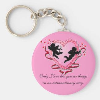 Cupids Heart Keychain