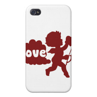 Cupids Love Fart iPhone 4/4S Covers