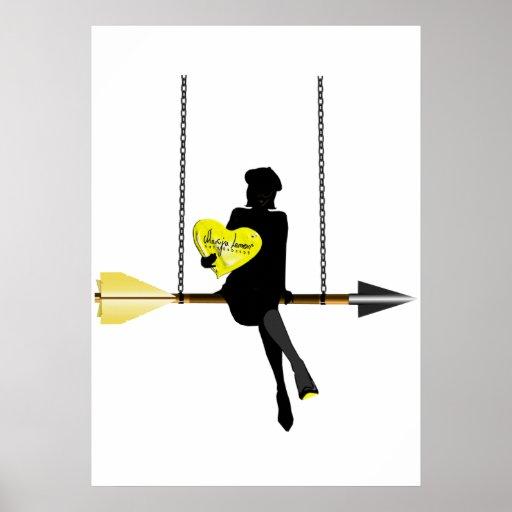 Cupid's Swing Poster