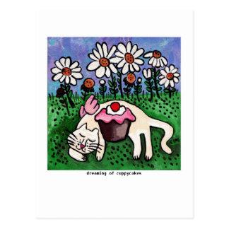 Cuppycake Dreams Postcard