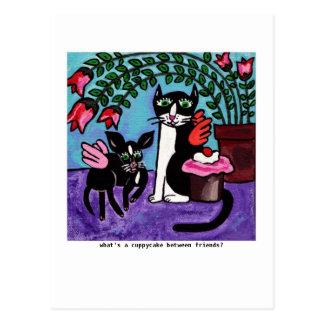 Cuppycake Friends Postcard
