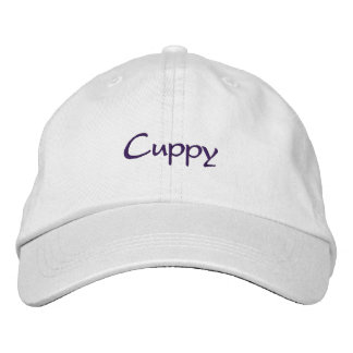 Cuppy's Embroidered Baseball Cap