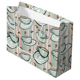 Cups Medley green Gift Bag