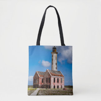 Curacao Abandoned Lighthouse Tote Bag