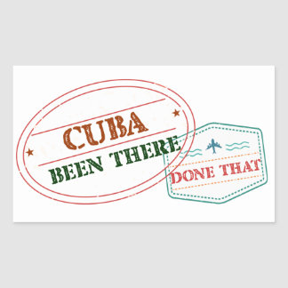 Curacao Been There Done That Sticker