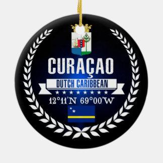 Curaçao Ceramic Ornament