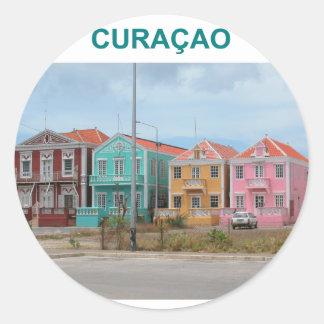 Curacao Classic Round Sticker
