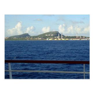 Curacao Coastline Postcard