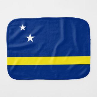 Curacao Flag Burp Cloth