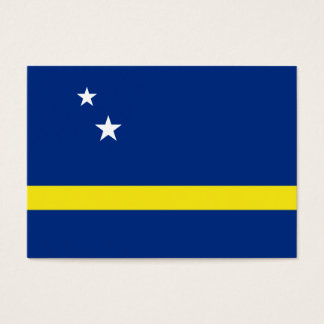 Curacao Flag Business Card