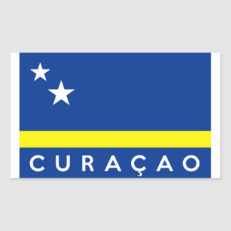 curacao flag country text name sticker