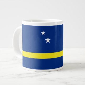 Curacao Flag Large Coffee Mug