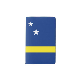 Curacao Flag Pocket Moleskine Notebook