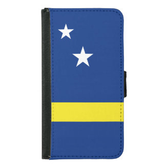Curacao Flag Samsung Galaxy S5 Wallet Case