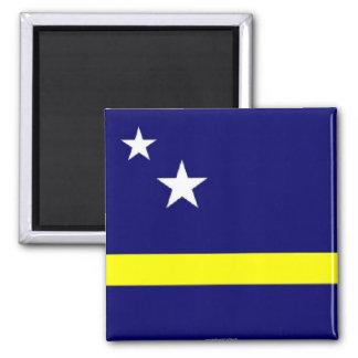 Curacao flag souvenir magnet