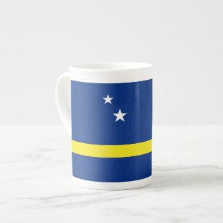 Curacao Flag Tea Cup